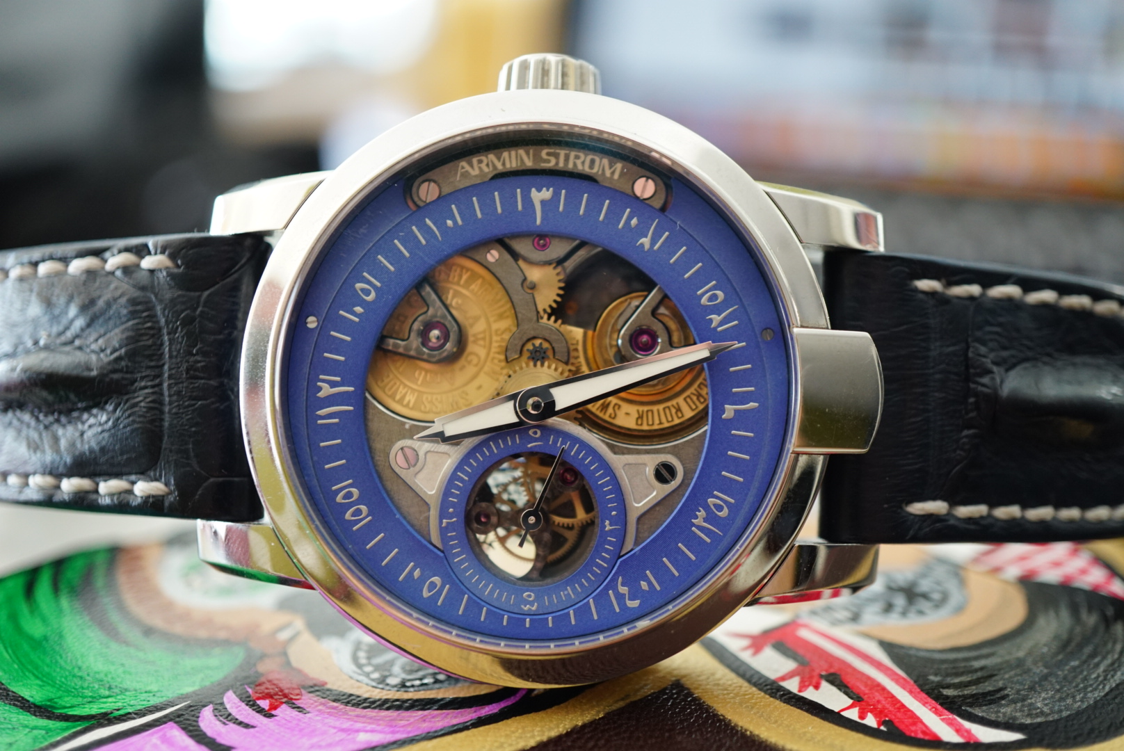 INTRODUCING THE ARMINSTROM GRAVITY ARAB WATCH CLUB EDITION 1
