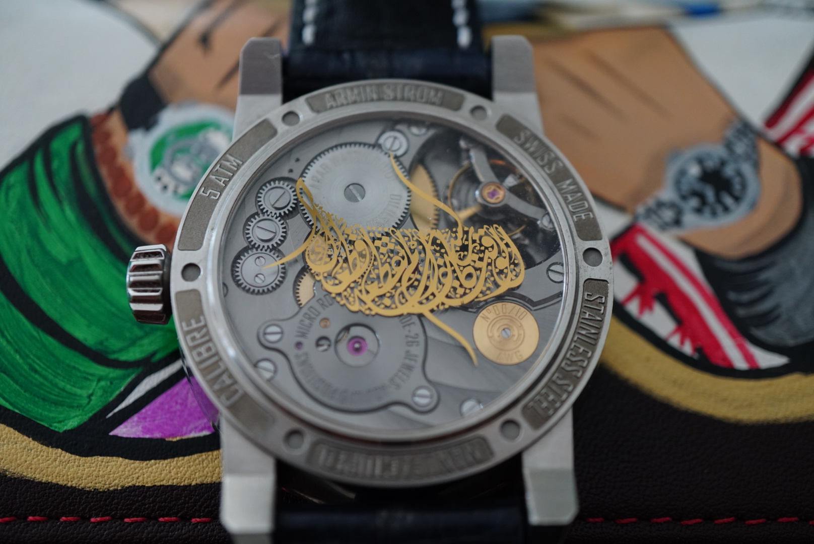 INTRODUCING THE ARMINSTROM GRAVITY ARAB WATCH CLUB EDITION 3